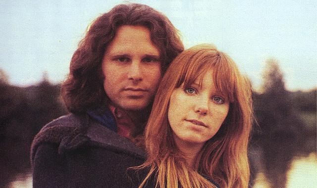 Los verdaderos Jim Morrison y Pamela Courson