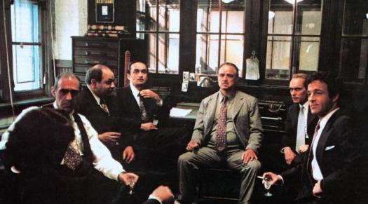 Fotograma de El Padrino (1972), de Francis Ford Coppola