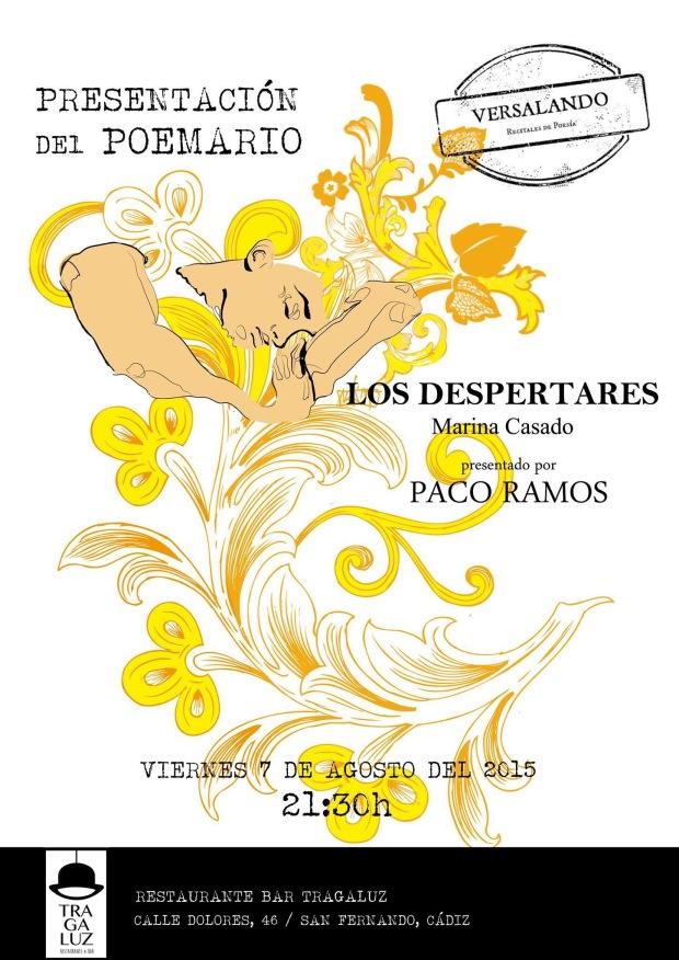Cartel del evento, dibujado a mano por María Kings