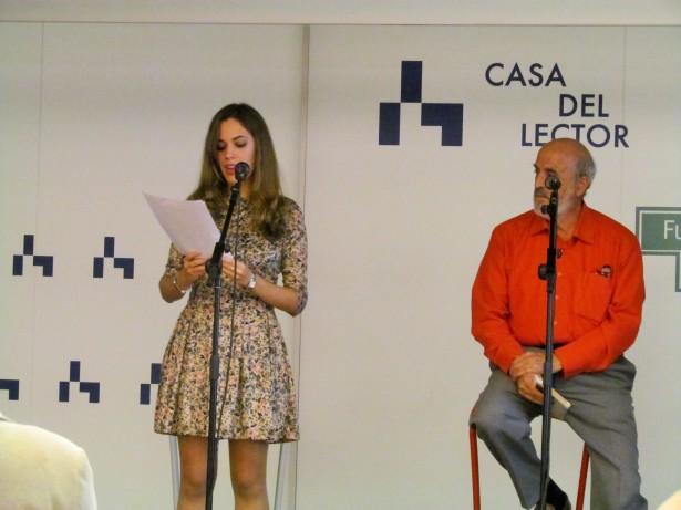 Marina Casado y José María de la Torre recitando por Vicente Aleixandre y Gabriel Celaya