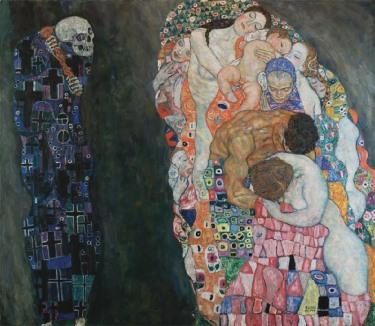 pinturas-de-la-muerte-klimt