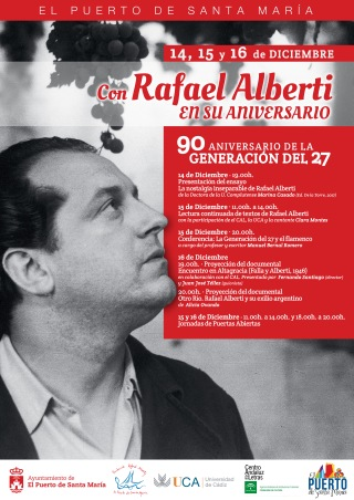 CARTEL ACTOS ALBERTI